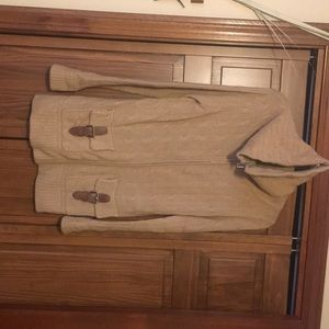 Camel color cashmere sweater